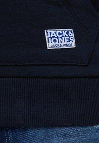 Jack & Jones Junior - SWEATSHIRT JUNGS STATEMENT-PRINT - Hoodie - navy blazer - 6