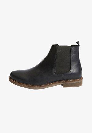 WAXY FINISH  - Kotníkové boty - black