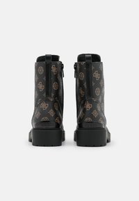 Guess - OXANA - Bottines à lacets - brown/ocra - 3