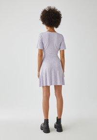 PULL&BEAR - Day dress - purple - 2