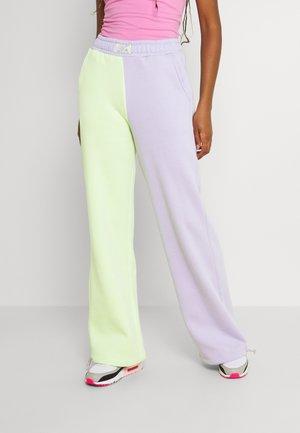 SORBET - Teplákové kalhoty - lavender/light green