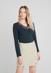 Anna Field - T-shirt à manches longues - scarab - 0