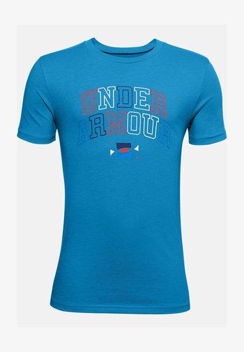 WORDMARK - Print T-shirt - dynamic blue