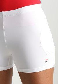 Fila - BALLPANT BELLA - Sportovní kraťasy - white - 4