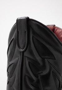 Bronx - JUKESON - Cowboy/Biker boots - black - 2