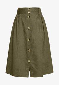 esmé studios - TASJA SKIRT - A-line skirt - dusky green - 4