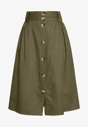 TASJA SKIRT - Áčková sukně - dusky green