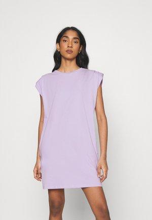 NMMINNA PADDED DRESS - Jersey dress - pastel lilac