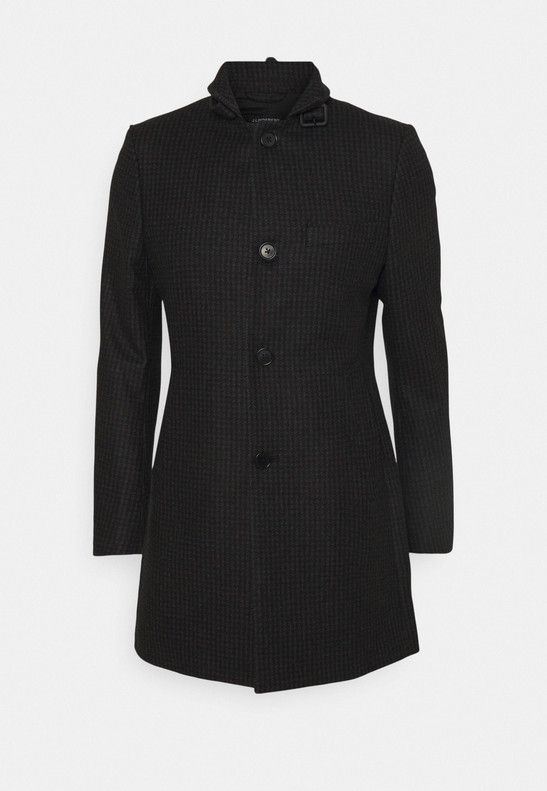 Men HOLGER HOUNDTOOTH COAT - Short coat