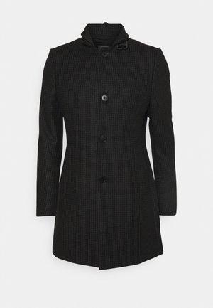 HOLGER HOUNDTOOTH COAT - Short coat - black