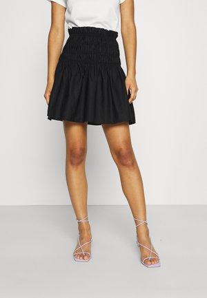 MIMAJA - Mini skirt - black