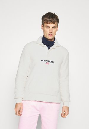 RUGBY LONG SLEEVE  - Fleece trui - antique white