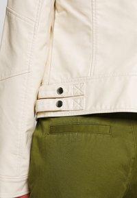 Vero Moda - VMRIAMARTA  - Faux leather jacket - birch - 3