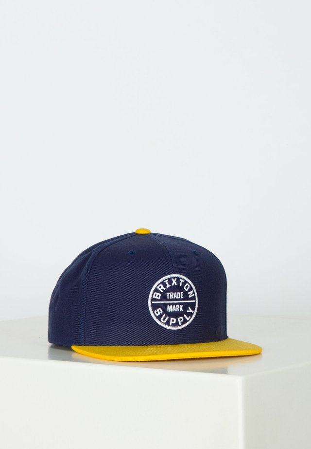 OATH - Cap - sunset yellow/washed navy