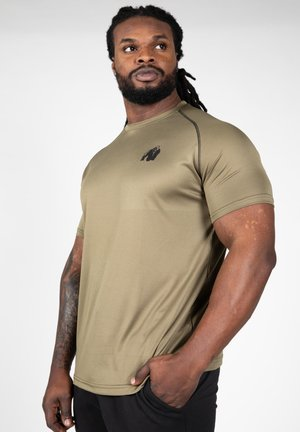 PERFORMANCE - T-shirt print - dark green