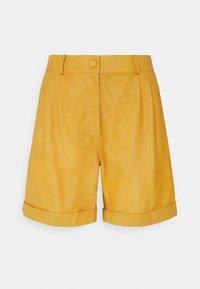DEPECHE - Shorts - yellow - 0