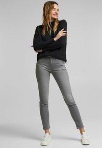 Esprit - Slim fit jeans - grey medium washed - 1