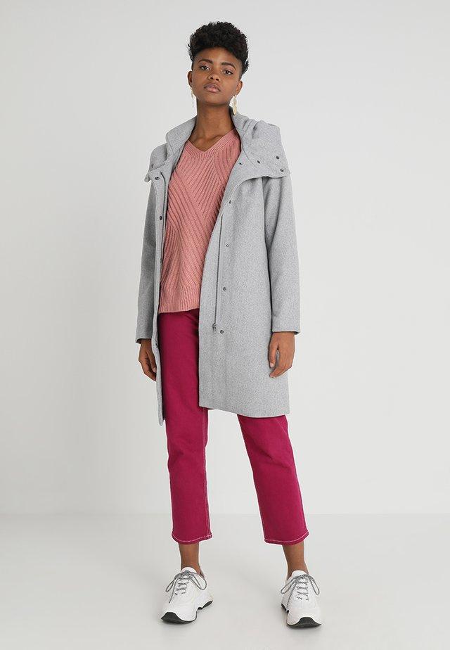 OBJSUSAN - Classic coat - light grey melange