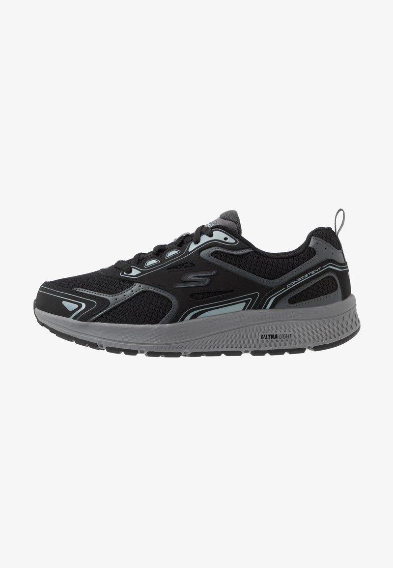 Skechers Performance - GO RUN CONSISTENT - Obuwie do biegania treningowe - black/grey