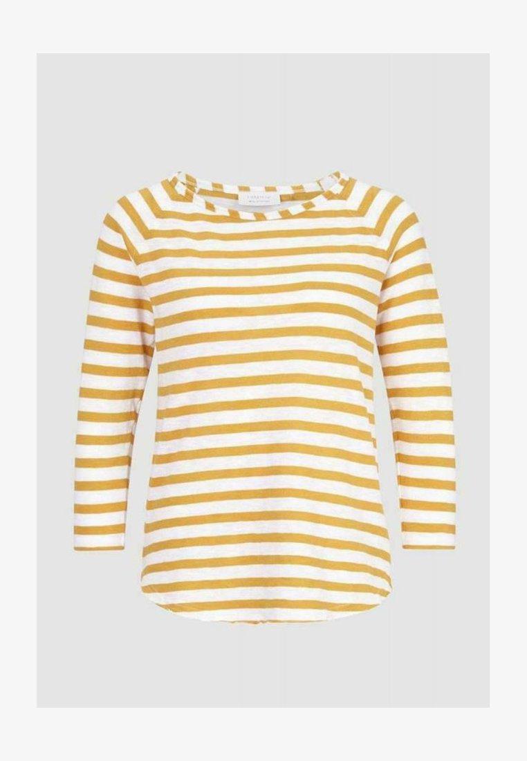 Rich & Royal - Long sleeved top - golden orange