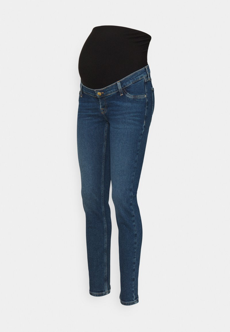 Anna Field MAMA - Jeans Skinny Fit - blue denim