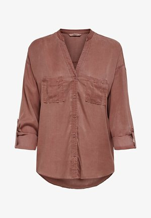 Blouse - mineral red
