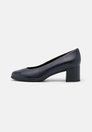 NEW ANNYA MID - Classic heels - navy