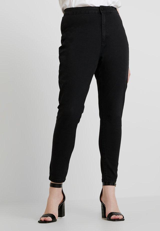 HIGH RISE FEEL - Jeans Skinny - black