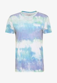 TOM TAILOR DENIM - BATIK  - T-shirt z nadrukiem - multicolor/white - 4