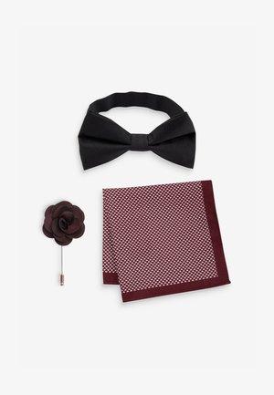 Pocket square - mottled black
