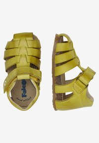 Naturino - ALBY halboffener - Baby shoes - gold - 1