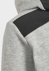 adidas Performance - BADGE OF SPORT ATHLETICS SWEATSHIRT HOODIE - Hoodie - grey - 5
