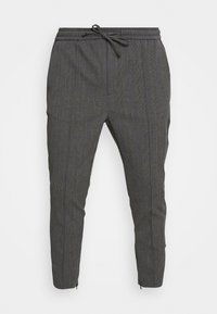 Kings Will Dream - PAULIE SMART JOGGERS - Trousers - charcoal check - 3