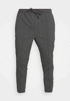PAULIE SMART JOGGERS - Trousers - charcoal check