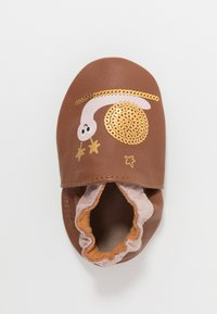 Robeez - LOVELY SNAIL - First shoes - marron/rose - 1