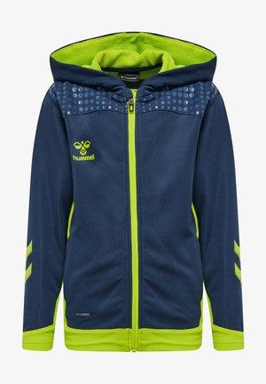 Zip-up hoodie - dark denim