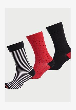 3 PACK - Socks - black multipack