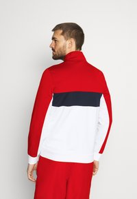 Lacoste Sport - TENNIS JACKET - Träningsjacka - ruby/white/navy blue/white - 2