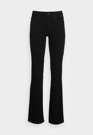 BOOTCUT - Bootcut jeans - black rinse