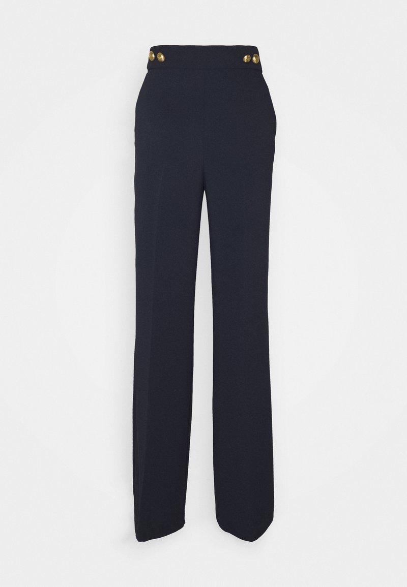Pinko - SBOZZARE TROUSERS - Trousers - marine