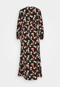 Missguided Plus - PLUNGE DRESS FLORAL - Day dress - red - 7