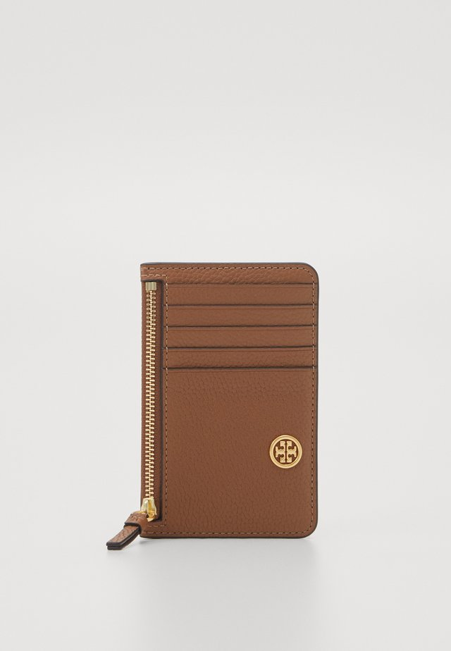 WALKER TOP ZIP CARD CASE - Peněženka - light brown