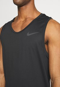 Nike Performance - TANK DRY - T-shirt sportiva - black/white - 4