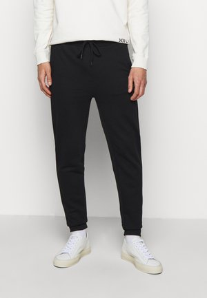 DIBEX  - Tracksuit bottoms - black