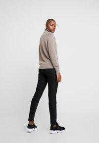 Mos Mosh - BLAKE NIGHT PANT SUSTAINABLE - Trousers - black - 3
