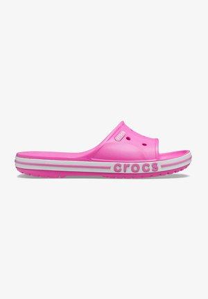 Pool slides - electric pink