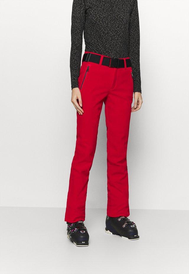 JOENTAUS - Pantalon de ski - classic red