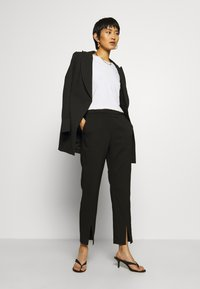 Samsøe Samsøe - MARGRIT TROUSERS  - Trousers - black - 1