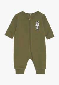 Name it - NBMNIGHTSUIT  ZIP 2 PACK - Pyjamas - loden green - 2