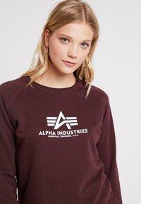 Alpha Industries - NEW BASIC  - Sweatshirt - deep maroon - 3